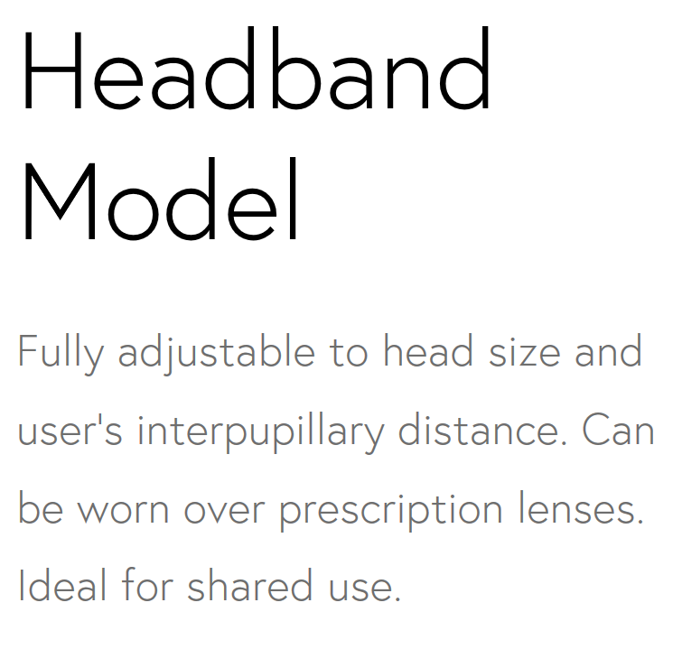 Headband Model